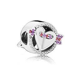 COSEN PAN 2019 100% 925 Plata de ley Brillante Flecha Corazón Encanto Joyas originales de mujer Regalo del día de San Valentín 797827CZMX desde fabricantes