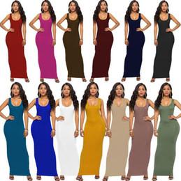 Узкие платья уличный стиль онлайн-2019 дамы обтягивающие летние ночные клубы вечернее платье жилет длинная юбка уличный стиль повседневная 14 цвет новая модельер