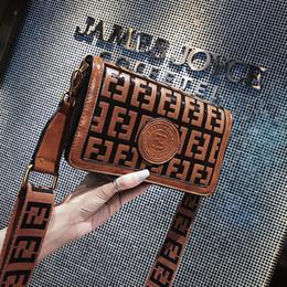 Bolso del club online-Mujer Doble letra F Bolso Bandolera Bandolera Vendimia Hombro Cinturón Cinturón Fanny Packs Party Club Tote Zipper Messenger Bag C42402
