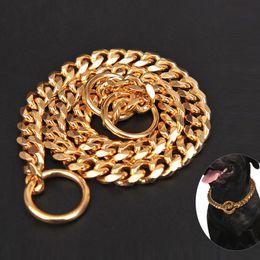 schwarzer strass hundehalsband Rabatt 45 50 55 60Cm Length Dog Collars 3MM Diameter Dog Choke Chain Choker Collar 304 Stainless Steel Training Chain Drop Shipping