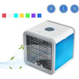 Climatiseur de bureau en Ligne-Refroidisseur d'air Arctic Air Cooler personnel Simple et rapide pour refroidir n'importe quel espace Climatiseur Périphérique de bureau à domicile Articles de fantaisie