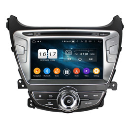Hyundai mp4 bluetooth spieler online-Octa-Core 4G RAM 32G ROM Android 9.0 Auto-DVD GPS-Media-Player für Hyundai Elantra 2014-2015