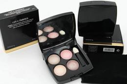 Mejor brillo de sombra de ojos online-Nueva marca de alta calidad de productos más vendidos efecto múltiple coleccionar sombra de ojos quadra composición mineral 4 color sombra de ojos 0.5 g