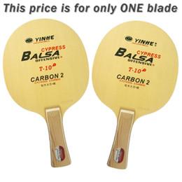Via Lattea Galaxy Yinhe Cypress Balsa T-10 + T 10+ T10 + OFF + Ping-pong per racchetta PingPong supplier yinhe table tennis blades da yinhe pale da tennis da tavolo fornitori