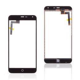 panel táctil de la nota Rebajas Pantalla táctil para MEIZU M1 NOTE Teléfono móvil Panel táctil Digitalizador de sensores M1 NOTE Cristal de repuesto
