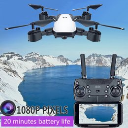 drone camera helicopter Promo Codes - HDRC D8 drone rc helicopter collapsible wireless FPV 0.3MP or 5 megapixel camera height is still RC drone 1080P quadcopter