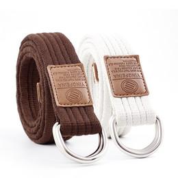 b57d93ea82c 2018 Newest Triangle Round Buckle Belts Female Leisure Jeans Wild Belt  Metal Buckle Men canvas designer belts men high quality