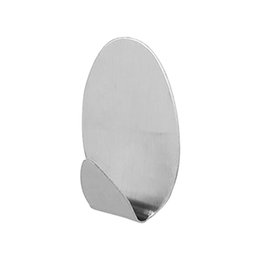 4 Pcs Teclas Toalha Banheiro De Aço Inoxidável Rodada Casa Toalhas Adhesive Gancho Resiste Umidade Organizador Sem Costura Instalação Rápida de