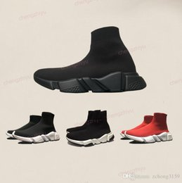 2020 esportes de alta velocidade Sapatos Sock Shoe Speed Trainer corredor com caixa de alta qualidade Sapatilhas Speed Trainer Meias raça Corredores pretos Sapatos homens e mulheres Sports Shoes desconto esportes de alta velocidade
