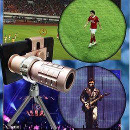 Canada Objectif de caméra de télescope de téléphone intelligent avec zoom optique 12X universel avec accessoires amovibles de photographie de téléphone portable à clip Offre