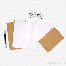 2019 блокнот b5 B5 Крафт ноутбук бумаги ручной копирования обложка блокноты пустой стежка Блокнот крафт обложка блокноты ежедневная бумага журнал канцелярские SF