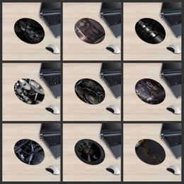 Hd de goma online-XGZ engranaje de la máquina redonda alfombrilla de ratón eje de rotación de imagen de cinta HD textura del metal de las armas de fuego Desmontaje Figura Robot turística Rubber Mat