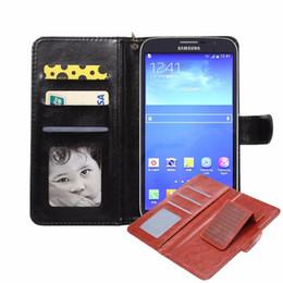 Huawei 4,7 on-line-Estojo de couro da aleta carteira universal para 4.3 4.7 4.8 5.0 5.5 6.0 polegadas telefone iphone xs x 8 sony sony sony sony lg htc huawei xiao mi