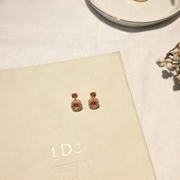 boucles d'oreilles intelligentes Promotion Bijoux Femmes 2019 Tendances de la mode Smart Open Stereo Full Diamond Simple Dormeuses