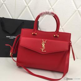 Bolsas de tira dupla on-line-A última moda feminina portátil Messenger Bag duplo zíper destacável alça de ombro cinza preto vermelho número da bolsa designer: 1208.