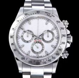 vende relógios para homem Desconto Top vendendo Fábrica Marca Suíça CAL.4130 Movimento 40mm 116506 116500 116520 116509 Homens Cronógrafo Automático Relógio de Moda homens relógios de Pulso