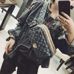 2019 ковбойский кошелек Роскошные дизайнерские сумки высокого качества бренд дизайнер CrossBody сумка мода кошелек груди мешок женщин Ковбой талии пакет L190430-1 дешево ковбойский кошелек