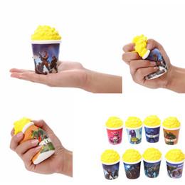 Fidget PU juguetes de palomitas de maíz Squishy Slow rebote squishy Simulación Funny Gadget Vent Descompresión juguete 10 pcs desde fabricantes