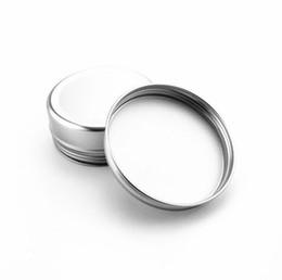 150 ml De Alumínio Jar Vazio De Alumínio Cosméticos Recipientes Pote Lip Balm Jar Tin Para O Creme Pomada De Mão Creme De Embalagem Caixa De Alumínio de Fornecedores de cobertura de comida de bambu
