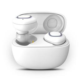Fone de ouvido on-line-Tws v5.0 fone de ouvido sem fio bluetooth fones de ouvido fone de ouvido estéreo fones de ouvido fones de ouvido à prova de suor com mic com caso de carregamento