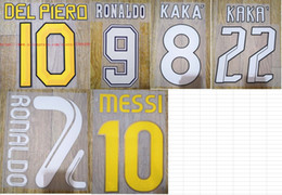 Canada 96-97 07-08 08-09 10-11 11-12 DEL PIERO MESSI RONALDO KAKA numérotation nom groupe de noms badge du football badge du football Offre