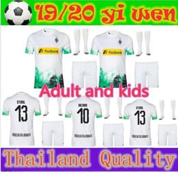 futebol de borussia Desconto 2019 Borussia Monchengladbach Camisas de futebol para adultos e crianças 19 20 Monchengladbach risco para crianças RAFFAEL STINDL PLEA camisas de futebol