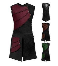 cosplay hommes adultes archer médiéval larp chevalier costume héros guerrier armure noire tenue romain manteau de vêtements manteau vêtements M-3XL cosplay ? partir de fabricateur