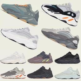 Zapatos de mujer online-Azul del tr 700 Kanye West 2020 entrenador zapatos para correr Runner 700 Imán de malva Wave Utilidad Negro Tefra estático 3M mujeres zapatillas de deporte diseñador