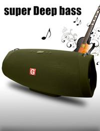 Marke Boombox Bluetooth Lautsprecher V5.0 Super Deep Bass 3000 mAh Wireless Lautsprecher Portable 30 Watt Geschenk Drop Shiping von Fabrikanten