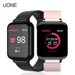 bracelets android Promotion B57 Femmes Montre Intelligente Fitness Tracker Moniteur de Fréquence Cardiaque Pression Artérielle smartwatch Hommes Bracelet Intelligent Pour Android iOS PK Fitbit