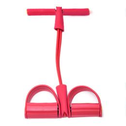 2019 tubi di piedi Recentemente pedale dinamico Bodybuilding Expander lattice del tubo del piede Pull corda elastica dimagrante Indoor Sports Equipment 19ing tubi di piedi economici