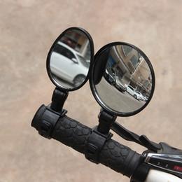 Miroir à bicyclette en Ligne-Miroir De Vélo Universel Guidon Rétroviseur Miroir 360 degrés Rotation pour Vélo VTT Vélo Vélo Accessoires Vélo Silicone Poignée De Recul