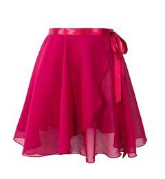 Vestuário de ballet feminino on-line-Mulheres Meninas Chiffon Saia Swing Lacing Ballet Dance Wear Crianças Ginástica Transparente Desgaste Perform Stage Wear