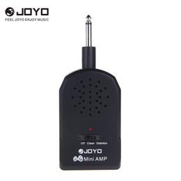 мини-гитара joyo Скидка JOYO JA-01 Мини-Гитара Усилитель Усилитель MP3 Вход 3.5 мм с Наушниками электрогитары Бас-Гитара