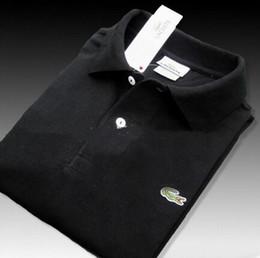 camicie mens del collare del basamento Sconti Vendita calda 2019 New Casual Polo da uomo Camicie uomo manica corta da uomo Abbigliamento uomo Stand collare Polo S-3XL
