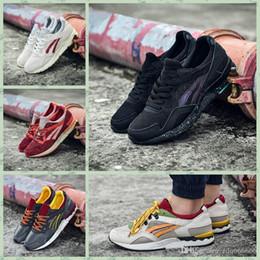 Nuevos colores de ejecución libre online-Asics Gel-Lyte V New Colors Running Shoes Gel Lyte V5 para mujeres hombres, ligeros transpirables descuento deporte zapatillas deportivas envío gratuito 36-45
