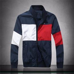 Chaquetas de primavera moda coreana online-Chaqueta casual chaqueta 19 primavera y otoño moda versión coreana de gama alta guapo popular personalidad de los hombres venta caliente A3461 #