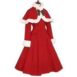 Billige lange wollmäntel online-Japan Cheap Custom dünne Wolle Sweet Lolita Mantel-Winter-netter Mantel Mädchen-Winter-Mäntel Marke Langer Wintermantel SH190928 gemacht