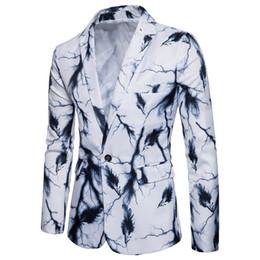 2019 peggiore abiti da sposa Abito da uomo di design fornitura di commercio estero primavera moda stampa tendenza Slim piccolo vestito giovanile giacca casual alta qualità all'ingrosso