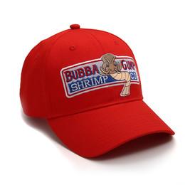 1994 Bubba Gump Shrimp Baseball Cap Forrest Gump Uomo Donna Sport cappelli estivi cappello ricamato casuale del cappello di Hip Hop Cap Estate Beauty Snapback da