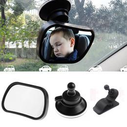 Espejo retrovisor del asiento trasero del bebé del coche para el bebé infantil Niño Niños Asientos de seguridad inversos Espejo con ventosa de clip desde fabricantes