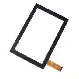 Tableta de pantalla táctil de china online-China hizo 10.1 pantalla táctil del panel táctil para Hotatouch HC253168F PG-FPC V1.0 Tablet Negro
