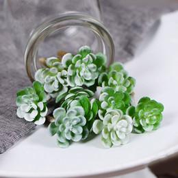 erba artificiale del paesaggio Sconti Pianta di erba succulenta artificiale Paesaggio di terra finto Piante di loto rare Fiore di giardino Decorazione di nozze