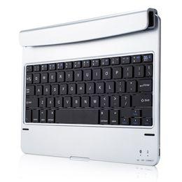 Флип-клавиатура онлайн-Desktop Durable Ultra-Slim Keyboard Plug-In Stand Case Backlight Flip Wireless Bluetooth For IPad Air2 Pro9.7
