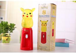 Mini Cartoon 2L 8 tazze di acqua fredda dispenser in pikachu stile PET materiale per alimenti 470x140mm da gomma bottiglia fornitori