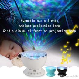 baby-projektionslampe Rabatt M-05 Baby Schlaf Ozean Projektionslampe 7 Farben LED Nachtlicht Schlafzimmer Projektionslampe mit Fernbedienung