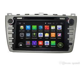 Емкостный сенсорный экран 100% Android 4.4 8-дюймовый автомобильный DVD GPS для Mazda 6 2008-2012 Поддержка DVR OBD Встроенный WiFi 3G с Canbus от Поставщики vw jetta bluetooth радио