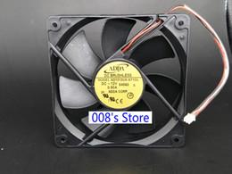 2019 fã da cpu 12v Novo Ventilador Do Refrigerador Do CPU Para 12 V 0.50A S 54060 12 CM AD1212US-A71GL 54060 12025 120 * 120 * 25 MM Chassis de Volume de Ar de Refrigeração 2 Pinos fã da cpu 12v barato