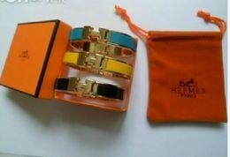 shamballa liebe armband Rabatt Top-Qualität Designer Frauen HERMES Emaille Charme Armbänder Bangle H Letter Buckle Hochwertige Armbänder Add Staubbeutel und Box