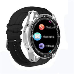 2019 orologi intelligenti 3g wifi Bluetooth Smartwatch X100 Android 5.1 Mtk6580 3g Wifi Gps Smart Watch Uomo per Samsung Gear S3 Huawei Watch 2 Kw88 Gw11 Qw09 Gt88 T190704 orologi intelligenti 3g wifi economici